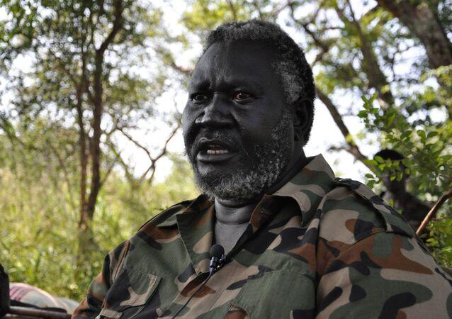 رئيس الحركة الشعبية لتحرير السودان - شمال مالك عقار
