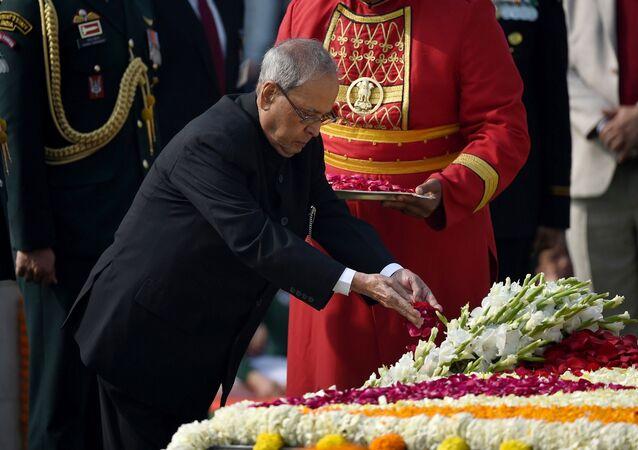 براناب موكرجي رئيس الهند السابق