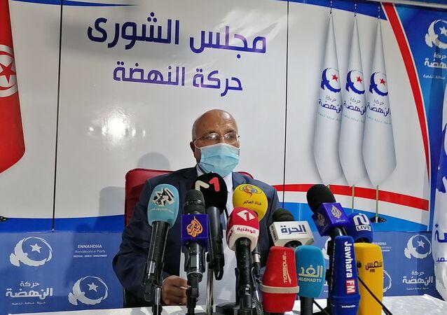 رئيس مجلس شورى حركة النهضة التونسية عبد الكريم الهاروني