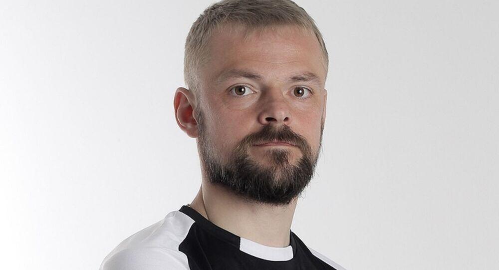 لاعب كرة قدم بيلاروسي سيرغي كازيكا