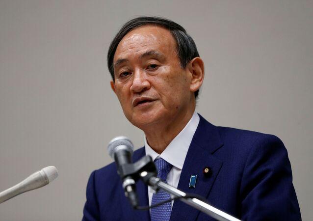 يوشيدا سوغا المرشح لمنصب رئيس وزراء اليابان خلفا لشينزو آبي