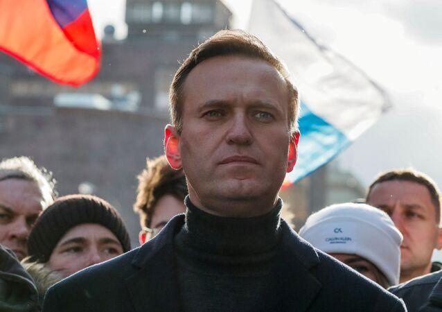 المعارض الروسي ألكسي نافالني