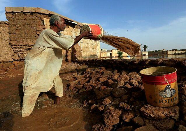 فيضانات نهر النيل في السودان الخرطوم