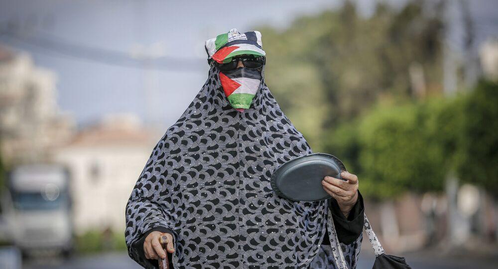 فرض الحجر الصحي بسبب موجة ثانية من تفشي فيروس كورونا في قطاع غزة، فلطسين