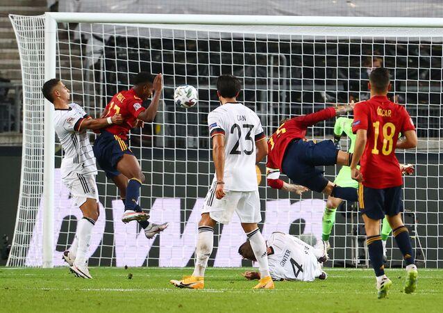 ألمانيا وإسبانيا في دوري الأمم الأوروبي
