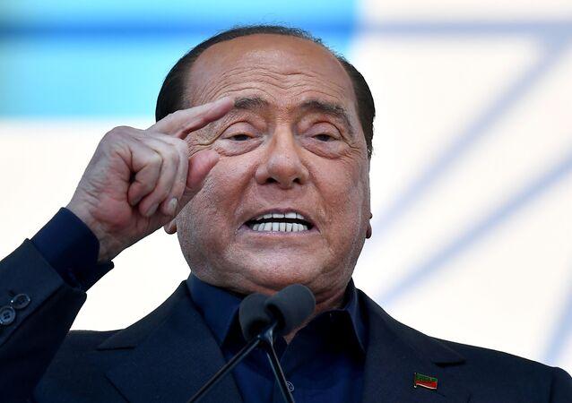 رئيس الوزراء الإيطالي السابق سيلفيو برلسكوني