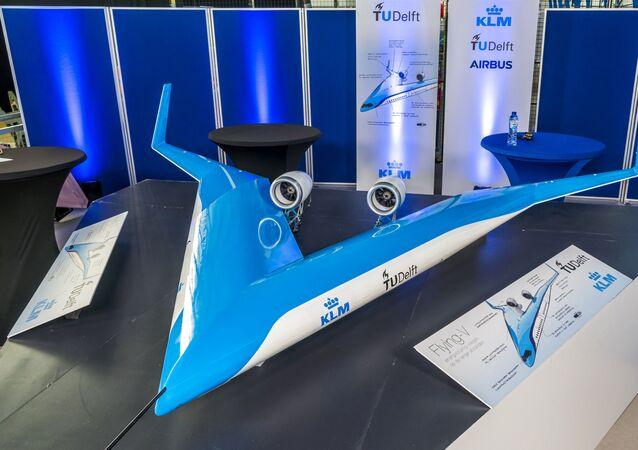 نموذج مصغر من الطائرة Flying-V