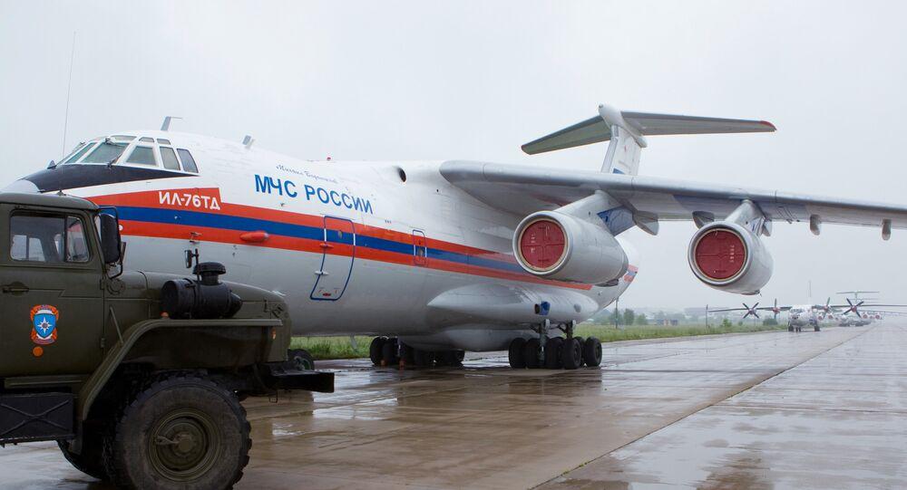 طائرة الطوارئ الروسية
