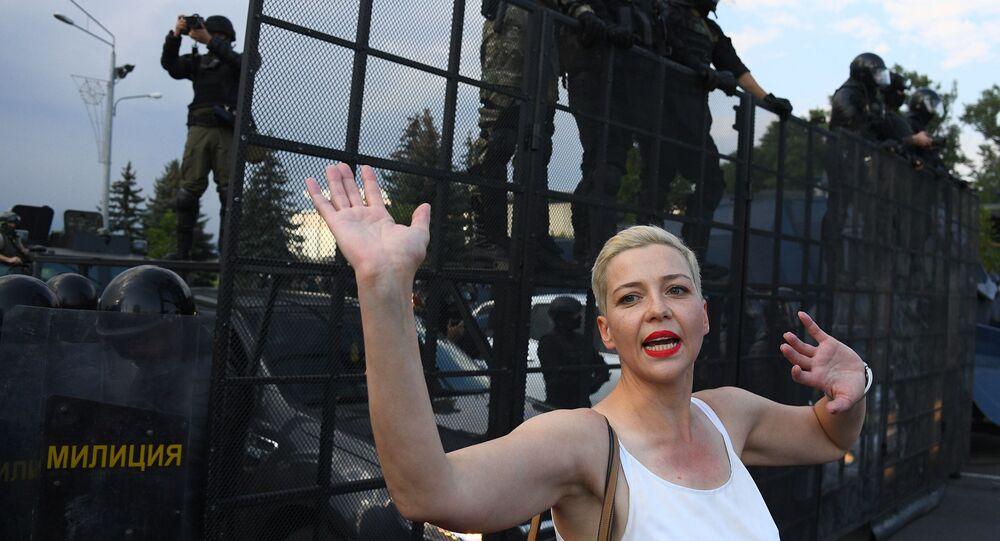 المعارضة البيلاروسية، ماريا كوليسنيكوفا