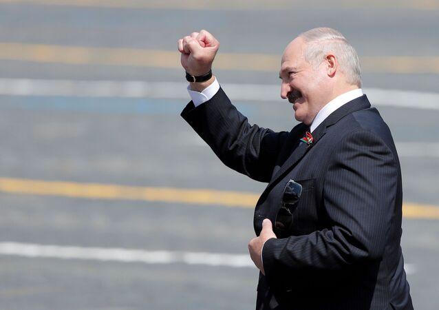 رئيس بيلاروسيا، ألكسندر لوكاشينكو في موسكو 24 يونيو 2020
