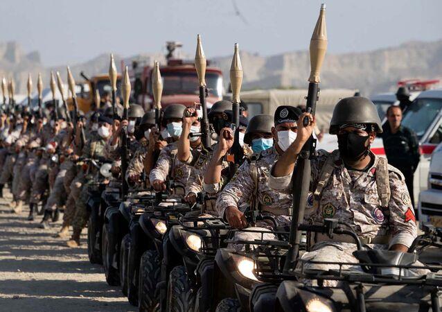 مناورات ذو الفقار 99 للجيش الإيراني في خليج عمان، إيران 7 سبتمبر 2020