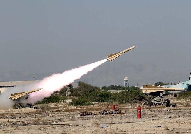 مناورات ذو الفقار 99 للجيش الإيراني في خليج عمان، إيران 8 سبتمبر 2020