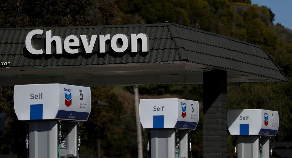 شركة النفط الامريكية شيفرون