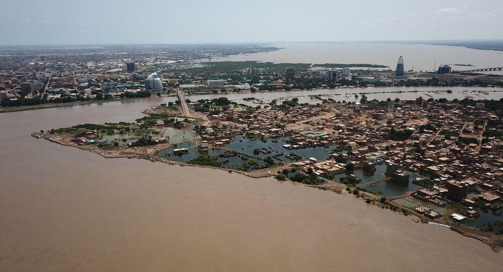 السيول والفيضانات في السودان