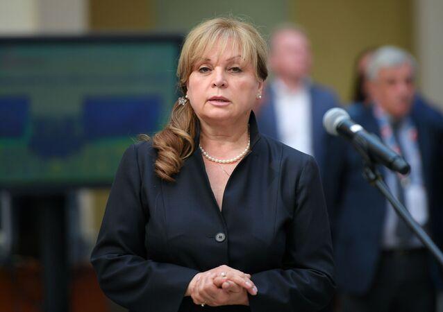 رئيسة لجنة الانتخابات المركزية الروسية، إيلا بامفيلوفا