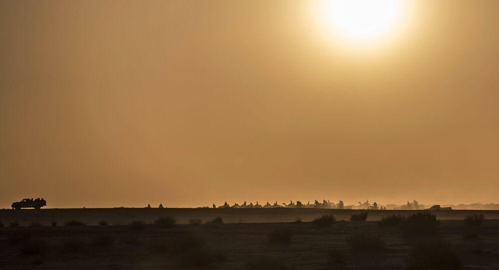سباق الجمال في صحراء سيناء، جنوب مصر 12 سبتمبر 2020