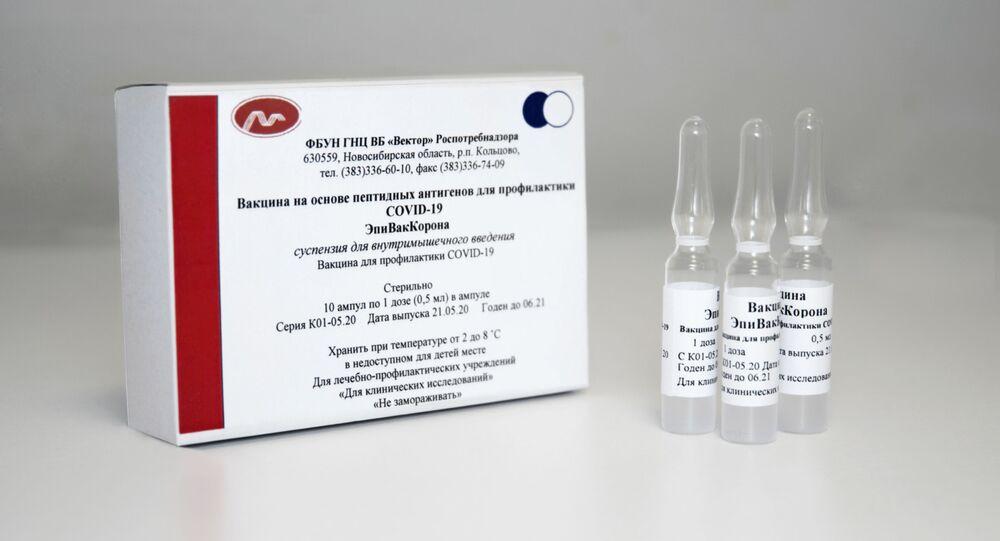 اللقاح الروسي إبي فاك كورونا ضد فيروس كورونا، روسيا