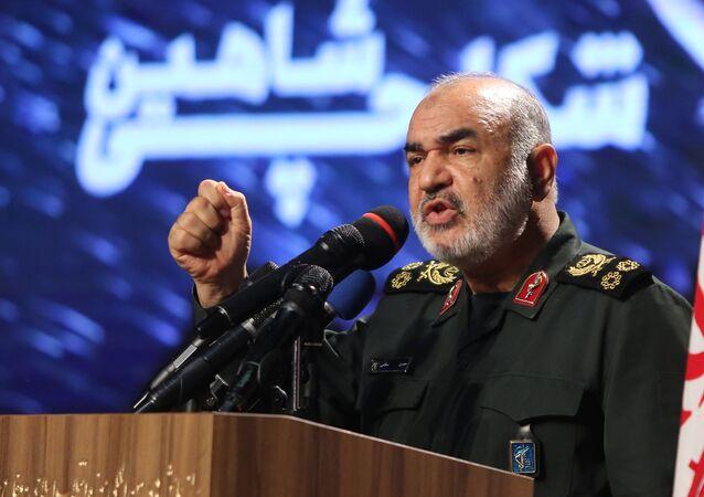 القائد العام للحرس الثوري الإيراني، اللواء حسين سلامي