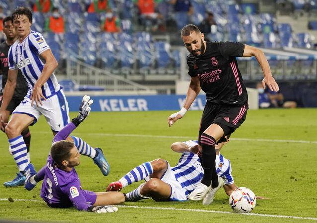 مباراة ريال مدريد وريال سوسيداد في الدوري الإسباني سبتمبر 2020