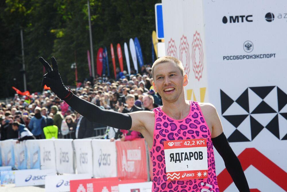 سباق موسكو للركض، ماراثون موسكو - 2020، 20 سبتمبر 2020