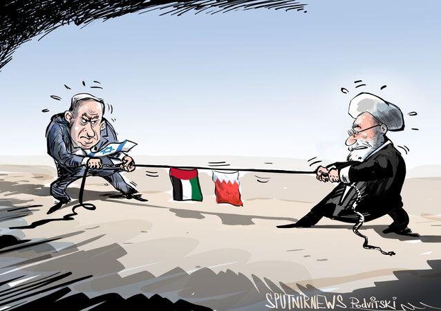 إيران ستحاول تحسين العلاقات مع البحرين والإمارات