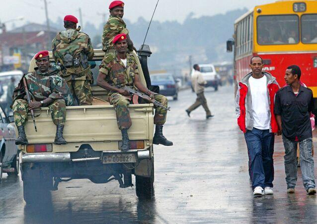 قوات الأمن الإثيوبية