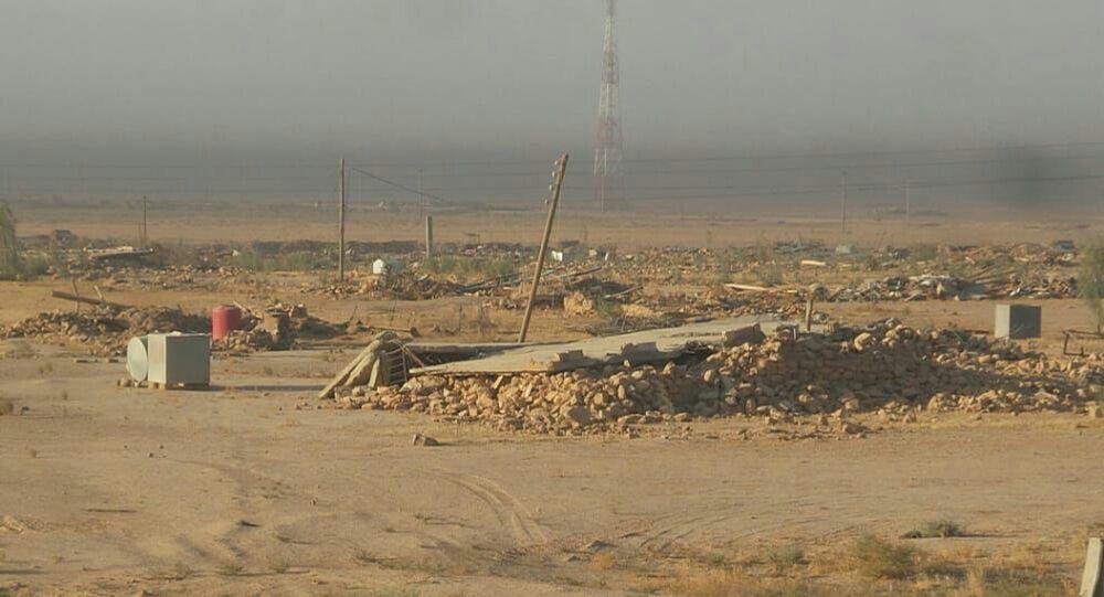محافظة الحسكة السورية بعد الدمار