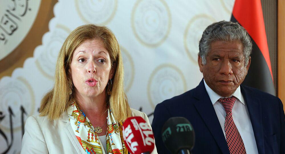 المبعوثة الأممية بالإنابة لليبيا ستيفاني وليامز