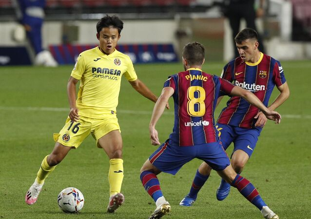 مباراة برشلونة وفياريال (4-0) في الدوري الإسباني