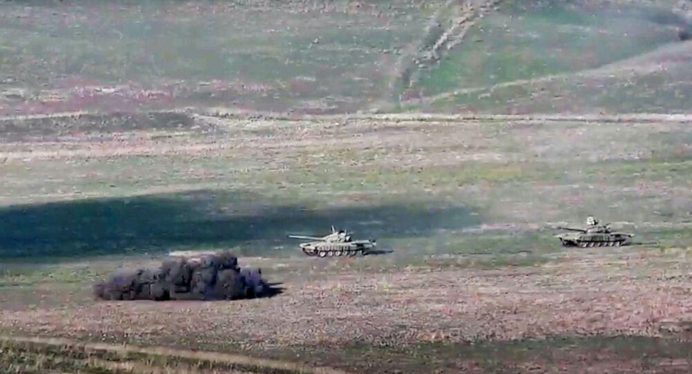 التصاعد العسكري بين أرمينيا و أذربيجان في منطقة ناغورني قرة باغ، 28 سبتمبر 2020