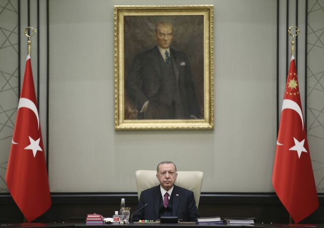 الرئيس التركي رجب طيب أردوغان، تركيا 24 سبتمبر 2020