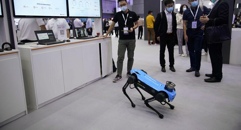 روبوتات على شكل كلاب