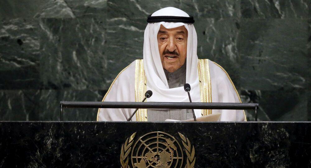 أمير الكويت الشيخ صباح الأحمد الجابر الصباح، قمة الأمم المتحدة للتنمية المستدامة، عام 2015
