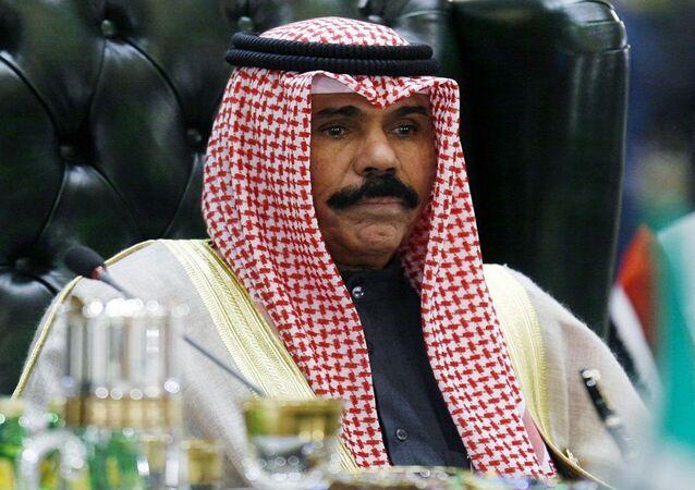 ولي العهد الكويتي الشيخ نواف الأحمد الذي تولى منصب أمير البلاد