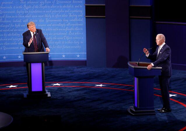المناظرة الأولى بين بايدن وترامب 30 سبتمبر أيلول