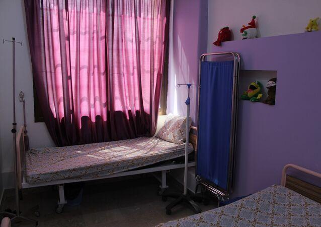 مركز معالجة مرضى السرطان في مدينة الحسكة، سوريا