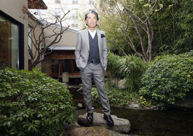 مؤسس العلامة التجارية العالمية كينزو  كينزو تاكاد
