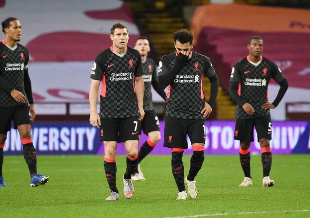 خسارة ليفربول أمام نظيره أستون فيلا بنتيجة 7-2 الأحد 4 أكتوبر تشرين الأول 2020