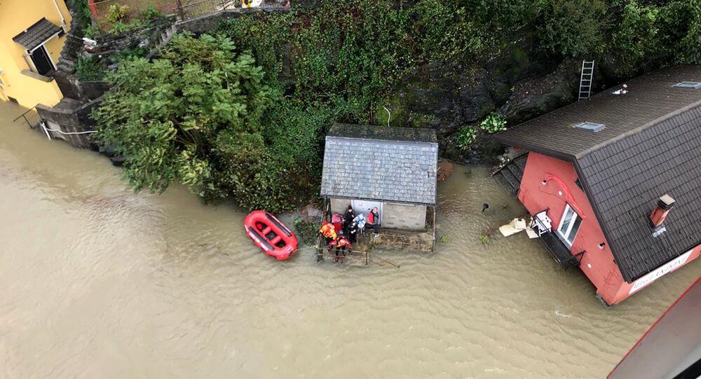 فيضانات في إيطاليا، 4 أكتوبر 2020