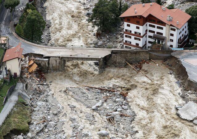 فيضانات في فرنسا، 3 أكتوبر 2020