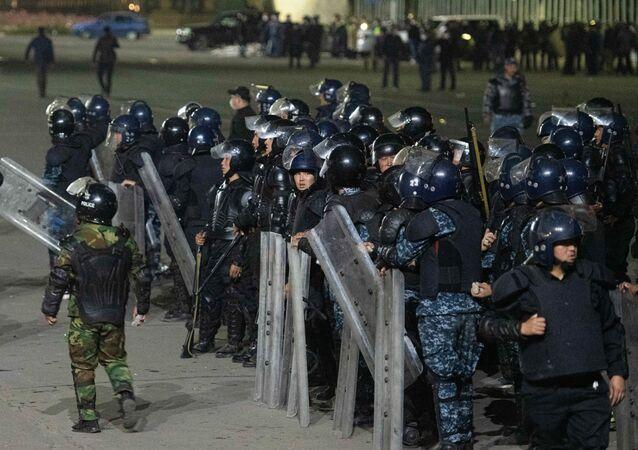 احتجاجات بيشكيك، قيرغيزستان 5 أكتوبر 2020