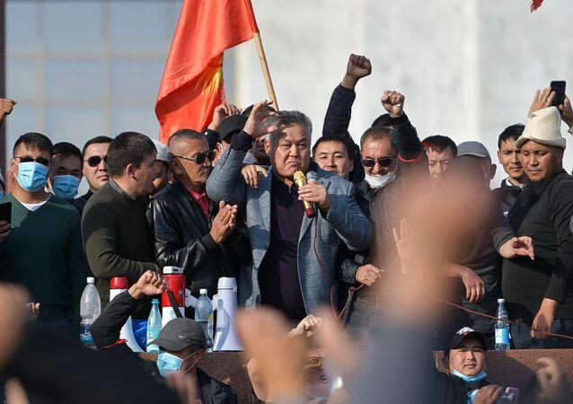 احتجاجات بيشكيك، قيرغيزستان (قرغيزستان) 5 أكتوبر 2020