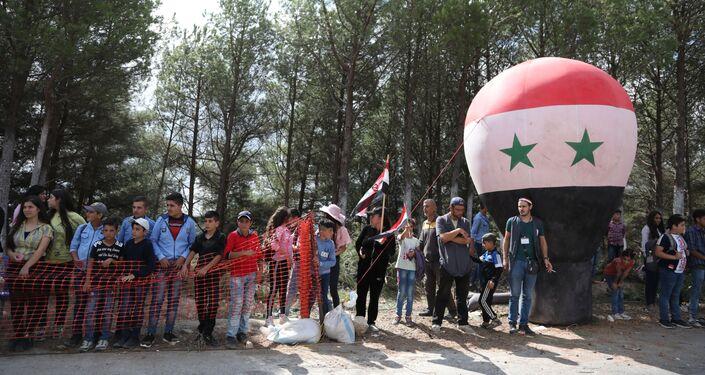 أول سباق دولي للدرجات الهوائية في سوريا بعد سنوات الحرب