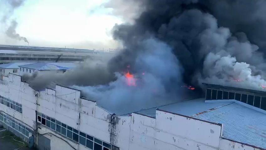 حريق مستودع الذخيرة في ريزان