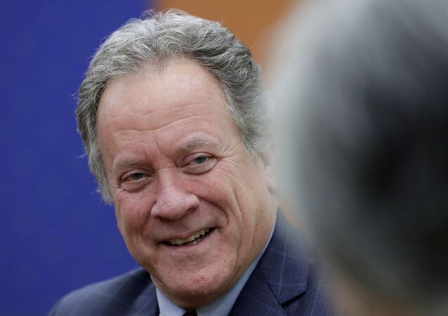 ديفيد بيزلي المدير التنفيذي لبرنامج الأغذية العالمي التابع للأمم المتحدة