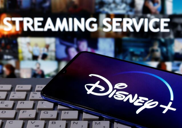 شعار منصة ديزني بلس الرقمية