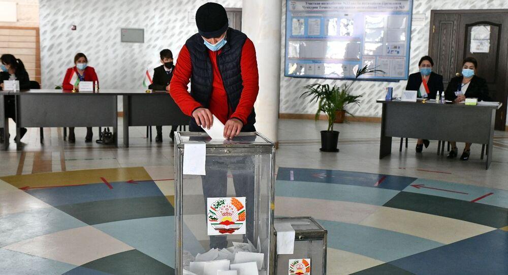 الانتخابات الرئاسية في طاجيكستان