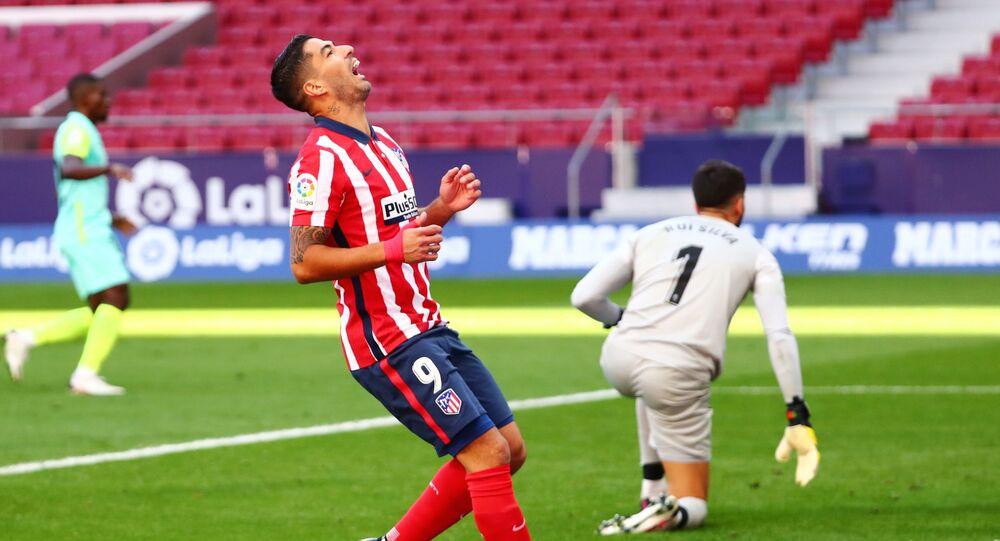 لويس سواريز مع نادي أتلتيكو مدريد