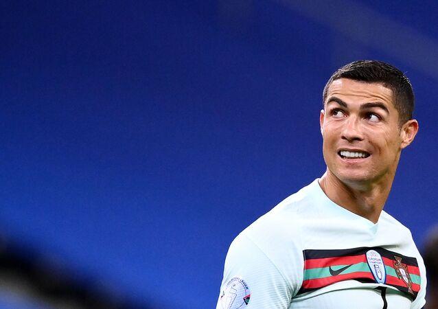 لاعب كرة القدم البرتغالي كريستيانو رونالدو، البرتغال 11 أكتوبر 2020