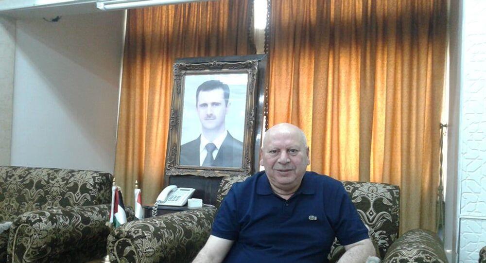 رئيس اتحاد الفلاحين في سوريا أحمد صالح إبراهيم